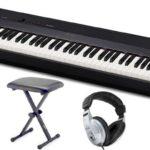 La tastiera del Casio PX-160 è graduata