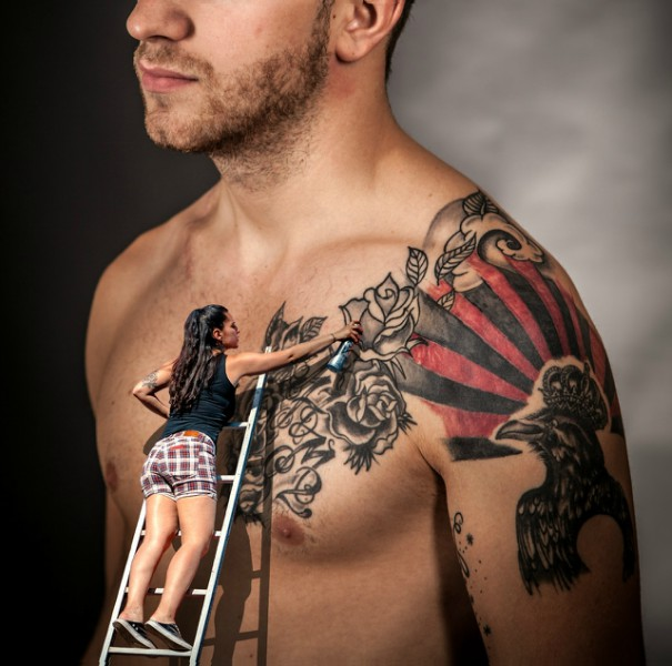 Cura del tatuaggio